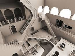 Stairs, Stairs and More Stairs